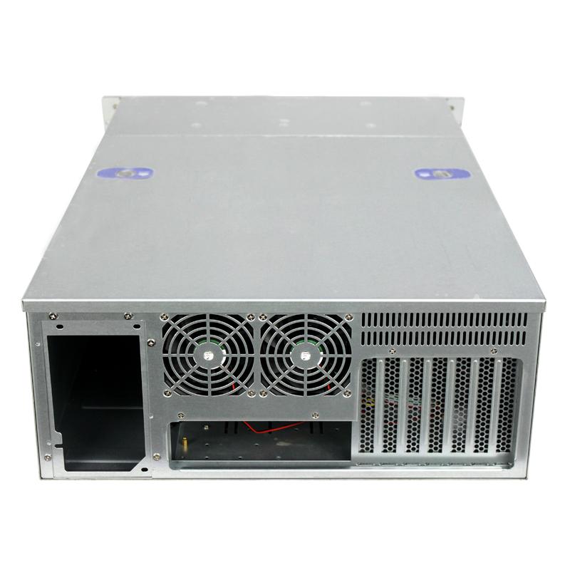 R466-24迈肯思服务器机箱4U机箱热插拔24个硬盘位服务器存储机箱IPFS/Burst/storj企业存储