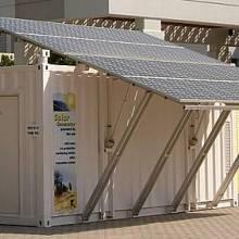山东良乔环境技术-光伏发电海水淡图片