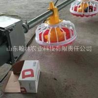 养鸡设备全自动水线料线肉鸡平养料盘式喂料线喂水器养鸡养鸭设备