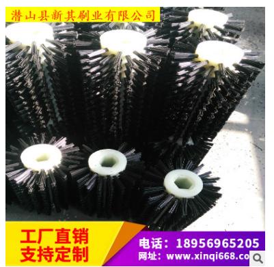 上海市厂家直销磨料丝刷 磨料丝滚刷价格 木地板抛光刷厂家