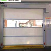 净化车间出入口防尘保温门 联动互锁自动卷帘门 PVC快速卷门厂家