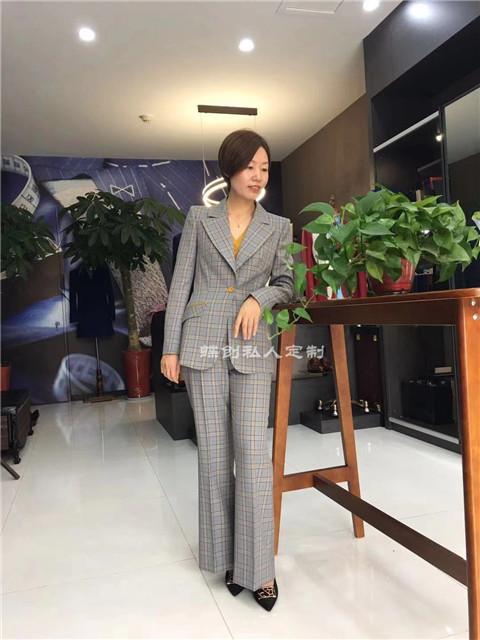 南京商务职业套装 时尚女装定制 南京商务西装订制店   
