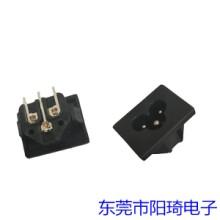 江苏插PCB板米老鼠插座丨梅花插座经销商丨米老鼠插座批发丨三芯插座加工定制批发