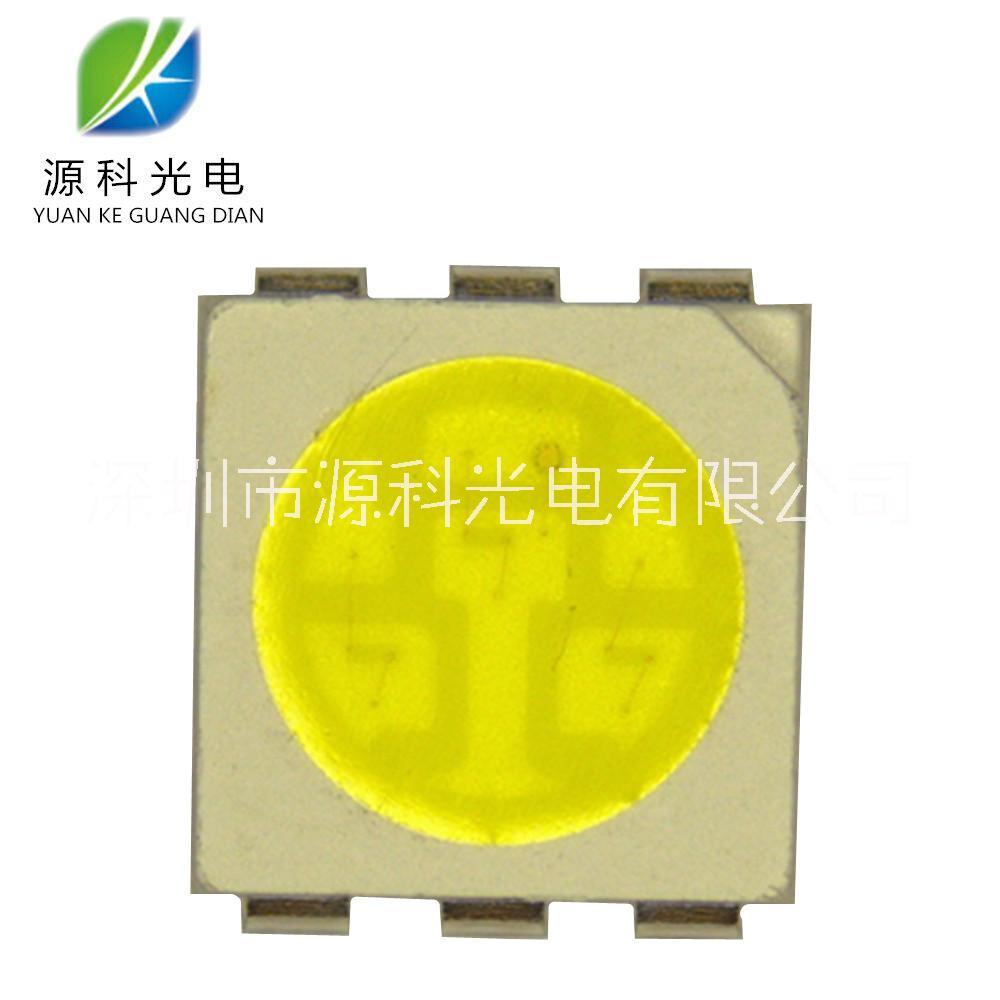 【工厂直销】超高亮 贴片LED 5050白色 22-24LM 白光 LED灯珠