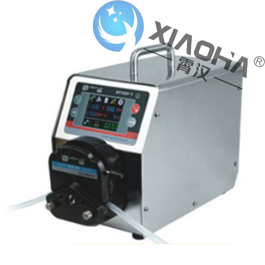 BT100F-1/YZ15(25)泵头 分配智能型蠕动泵 真彩色液晶屏显示,触摸屏按键操作