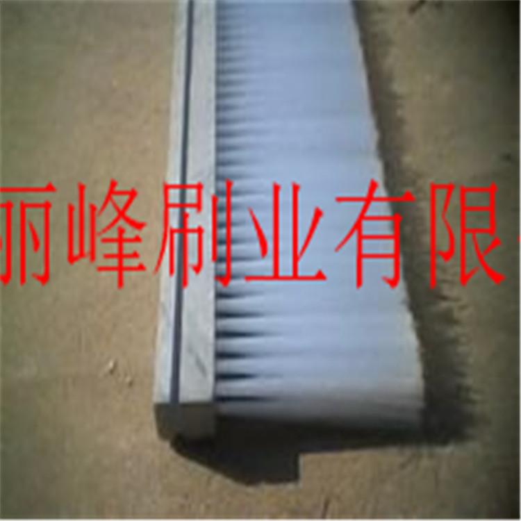 定做木头PVC毛刷条耐高温耐磨条刷尼龙丝条刷工业毛刷条塑料毛刷