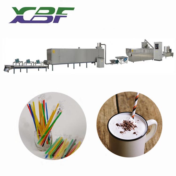 鑫贝发新品供应韩国大米吸管生产线  可食用大米吸管设备