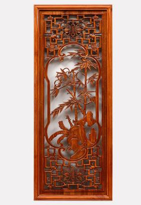 东阳木雕刻挂件