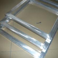 珠海市印铝网框厂家 印花框跑台框模板价格 丝印铝框丝供应商图片