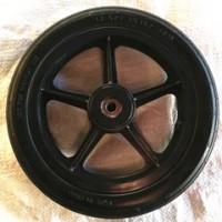 厂家直销12寸PU发泡轮子 覆膜机镇压轮 覆膜机轮子 12寸顺纹实心发泡轮
