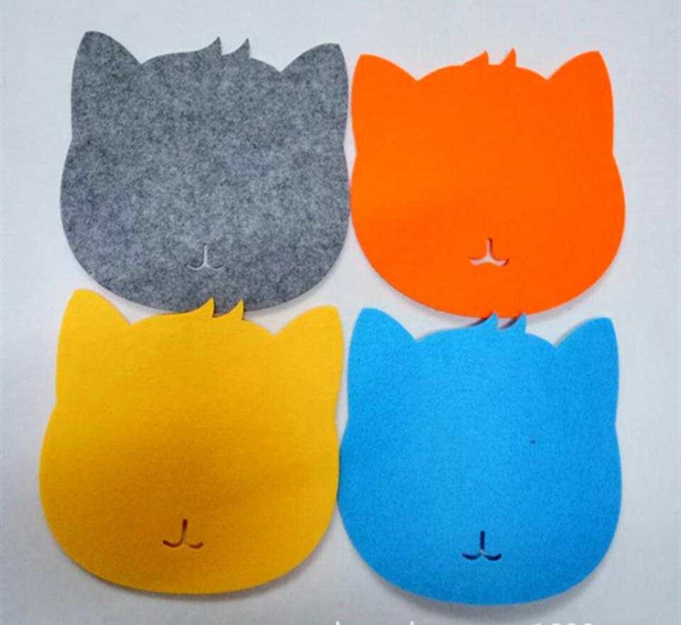 防滑鼠标垫定制 电脑配件鼠标垫批发 毛毡鼠标垫