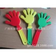 佛山协锐塑料厂家供应大号塑料手拍28CM鼓掌玩具拍助威道具塑料手拍掌 可定制图案logo