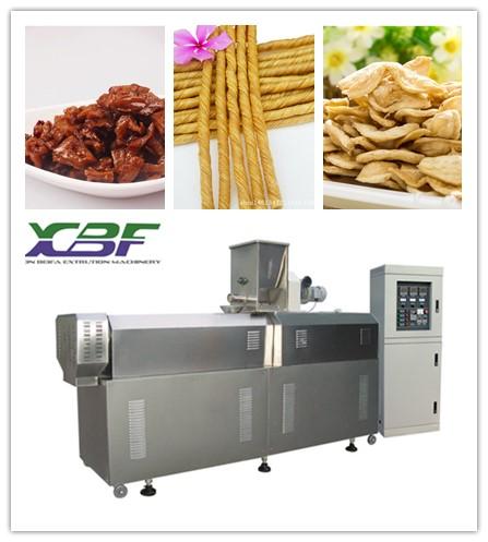 鑫贝发品质保证植物蛋白膨化机 拉丝蛋白设备 植物蛋白膨化机