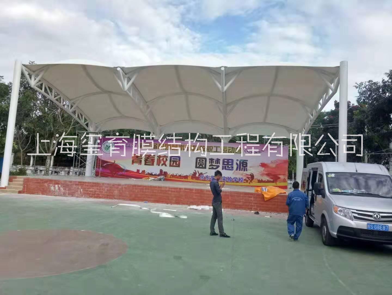 上海膜结构体育看台张拉膜厂家安装 全国各地均可安装