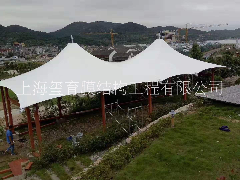 广东广州景观棚张拉膜厂家安装价格