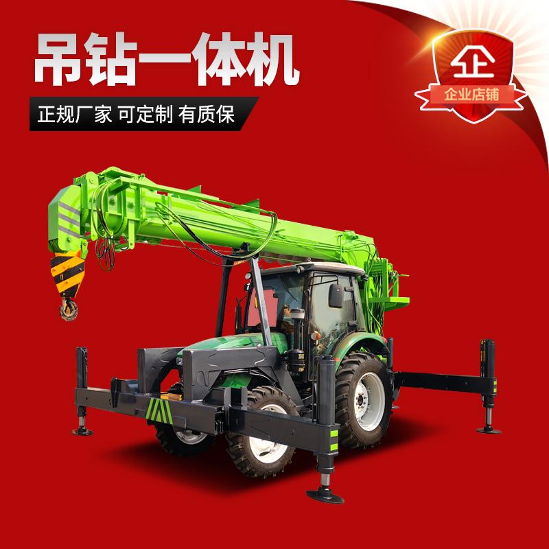 拖拉机吊钻一体机-拖拉机吊钻一体机厂家 拖拉机挖坑机