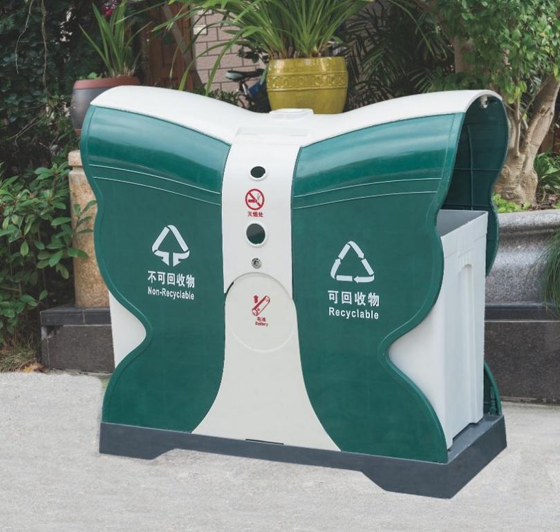 厂家直销垃圾桶 户外小区垃圾桶 道路广场居住小区户外街道垃圾桶 小区垃圾桶生产厂家