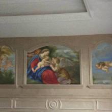 定制手绘油画国画壁画图片