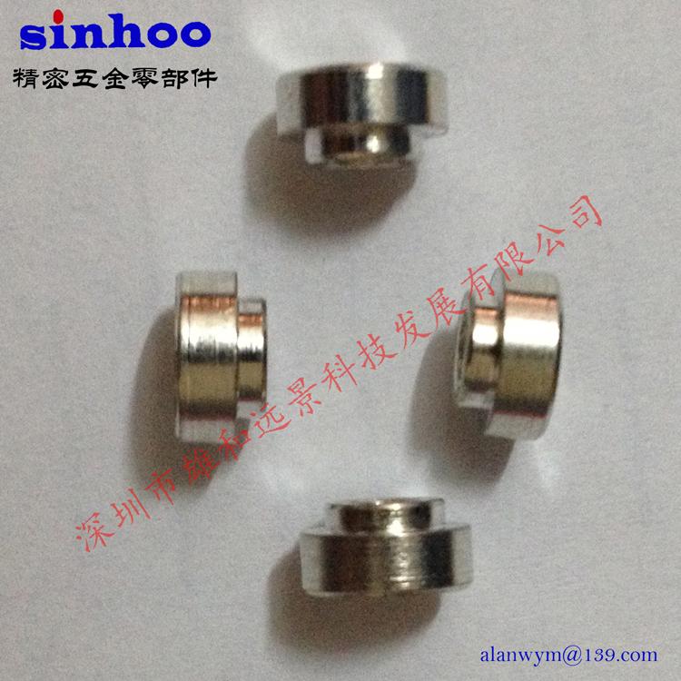 SMT螺母SMTSO-M2-0.5ET 贴片铜螺母 PCB主板焊锡螺母 厂家