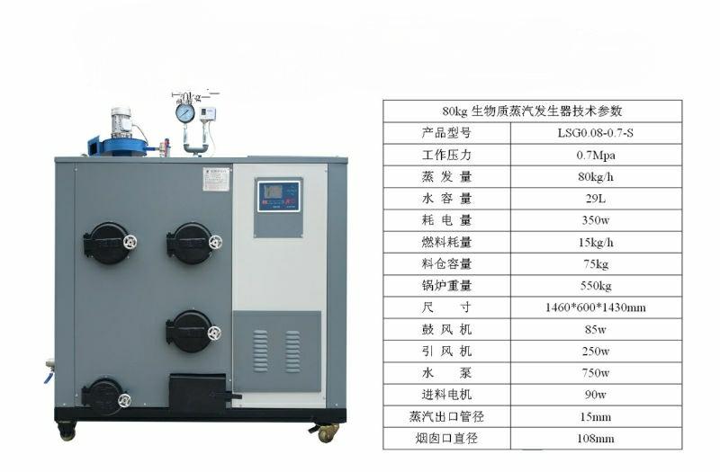 100公斤生物质蒸汽发生器