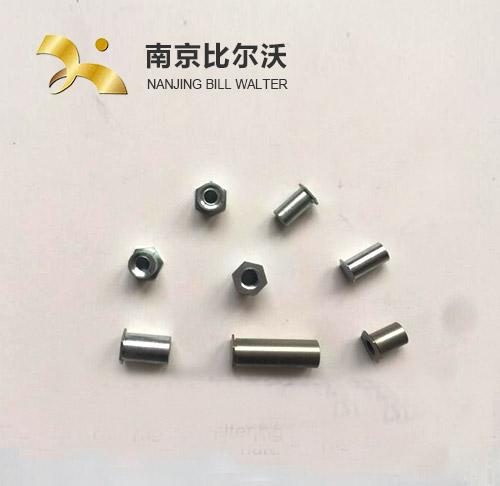 不锈钢通孔压铆螺套 不锈钢自攻螺套 316不锈钢一字槽自攻螺套302