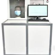 医用防护服过滤效率测试仪图片
