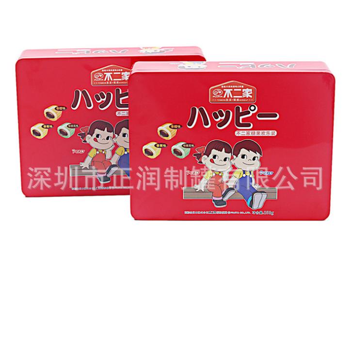 方形铁盒 方形铁盒定制 铁盒包装盒定制 方形饼干铁盒 马口铁茶叶罐方形