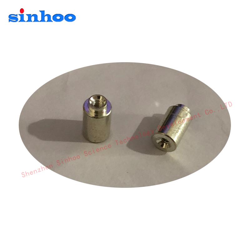 贴片螺母 SMTSO-M4-4ET 主板表贴螺母柱 盘装700/盘  PCB焊锡螺母 铜镀锡盘装