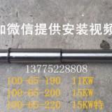 常州市武进第一热油泵厂100-65-190/200 /220-WRY热油泵配件泵轴