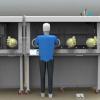 护目镜熔融金属炽热固体防护性试验图片