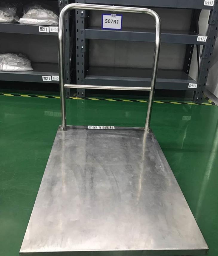 不锈钢平板推车生产厂家 不锈钢平板推车哪家好 江苏不锈钢平板推车