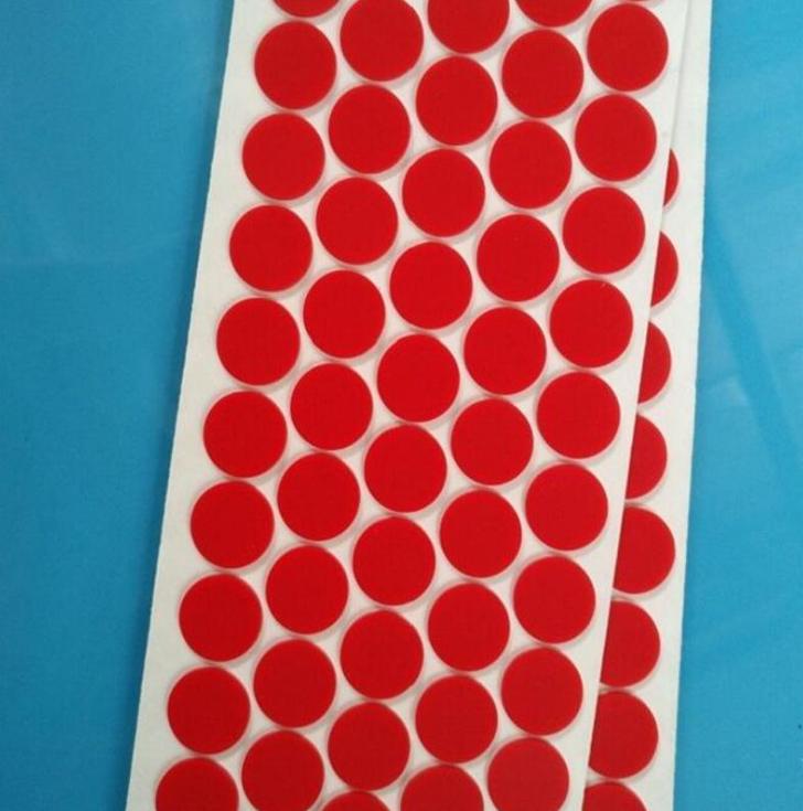 深圳厂家红色硅胶垫 透明硅胶脚垫 密封硅胶垫片 自粘硅胶防滑垫 透明硅胶垫