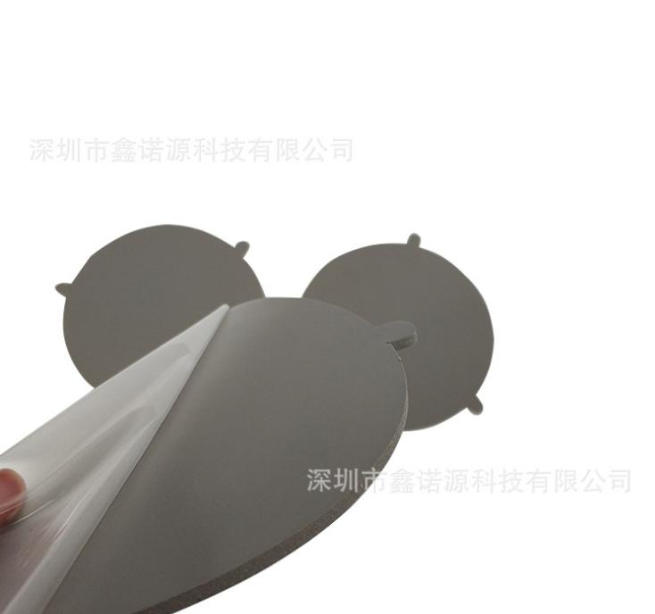 导热硅胶片生产厂家 定制散热导热硅胶 LED导热自粘矽胶片 自粘导热硅胶片