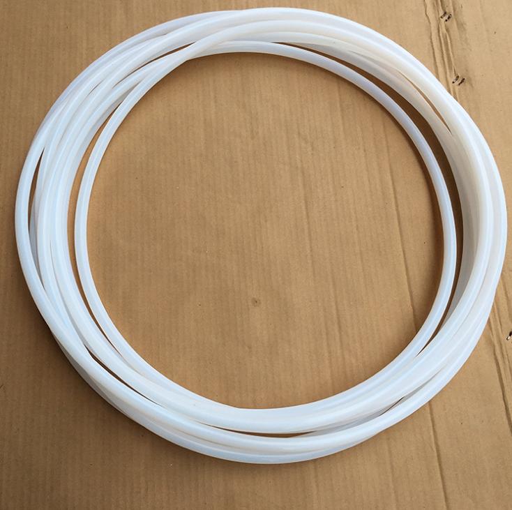 四氟波纹软管 2头12*14mm烫平直管 中间PTFE波纹管 耐腐蚀管耐高 铁氟龙颜色管