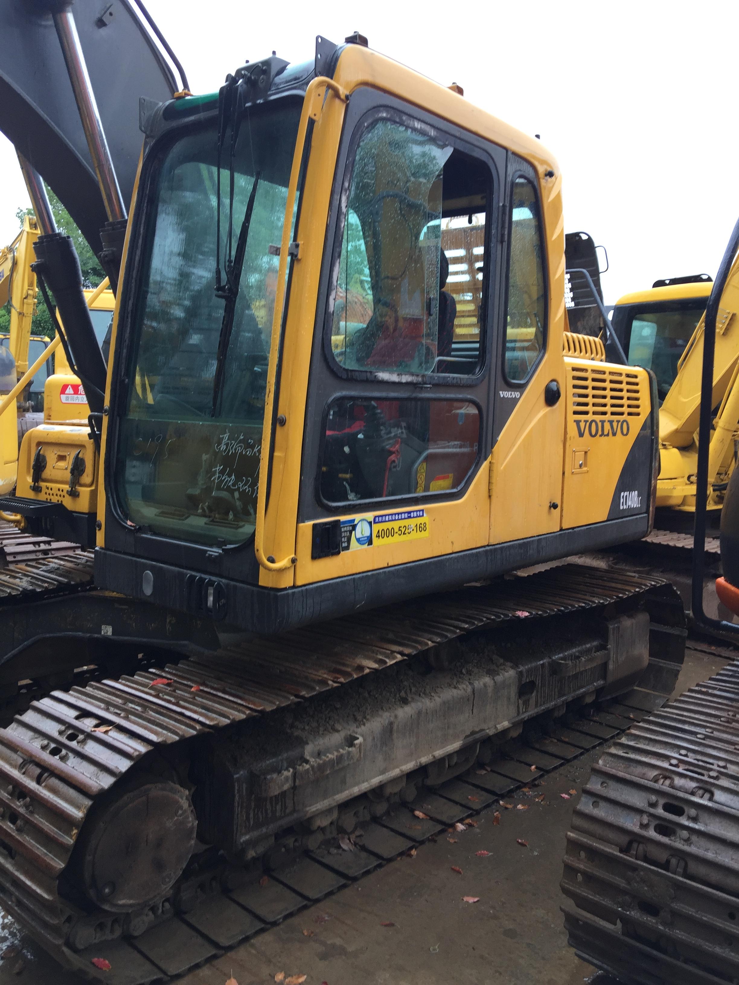 沃尔沃挖掘机 二手沃尔沃140挖掘机 履带式挖掘机