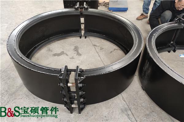 生产任意规格玻璃钢管哈夫节 抢修节 堵漏器 玻璃钢管哈夫节