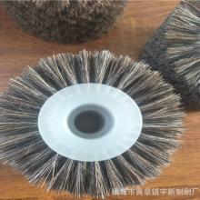 生產馬毛刷輪 皮鞋清潔拋光馬毛刷 安徽毛刷制品廠家直銷圖片
