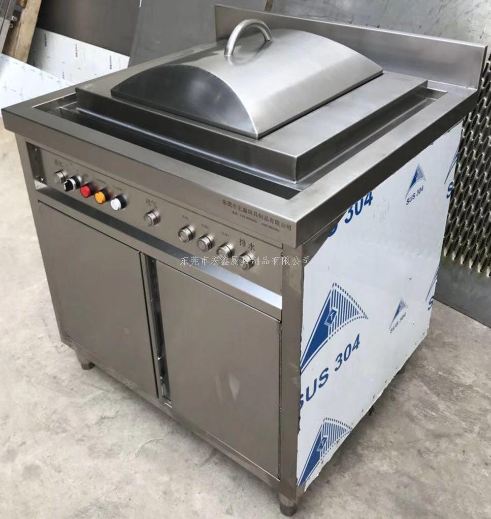 自动升降煮面炉 独立高汤锅 智能电肠粉柜