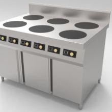 智能电独立煲粥炉 六眼自动升降煮面炉 电磁炉厂家图片