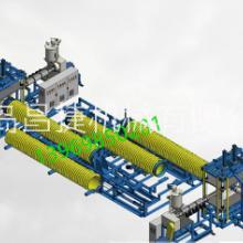 新型革命性大口径缠绕管材注塑式扩口机图片