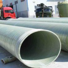 玻璃钢管道 玻璃钢夹砂管道 电缆保护 -大口径排水管道厂家图片