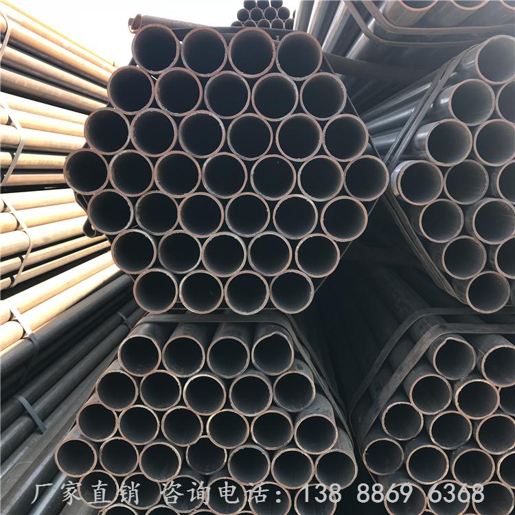 云南昆明焊管批发 直缝焊管  高频直缝焊管 手脚架流体钢管 钢结构焊接管