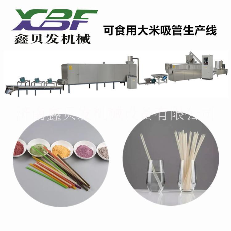 环保吸管生产设备厂家  韩国可以吃的吸管设备生产线 淀粉吸管加工机械价格