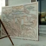 山东各种精品石雕壁画