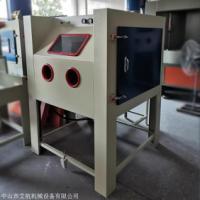 阳泉喷砂机厂家 1010大型箱式手动喷砂机