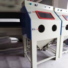 中山9080手动喷砂机 小型箱式环保喷砂机图片