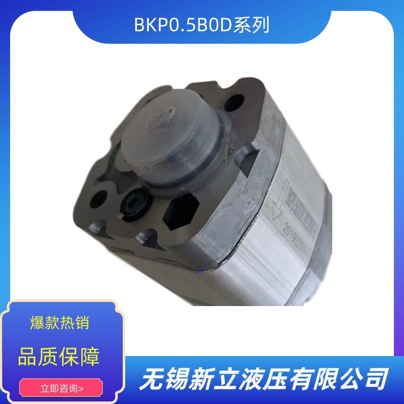 无锡齿轮油泵BKP0.5B0D报价 批发 供货商 生产厂家【无锡新立液压有限公司】