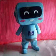毛绒吉祥物公仔定制厂家巨牛玩具定制卡通人偶服批发