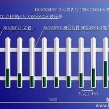 PVC护栏、围栏、花园围栏、草坪护栏批发