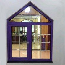 天津75铝木复合系统门窗 多腔体保温玻璃木包铝系统门窗厂家图片